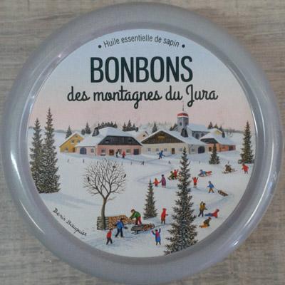Bonbon Sapin Jura