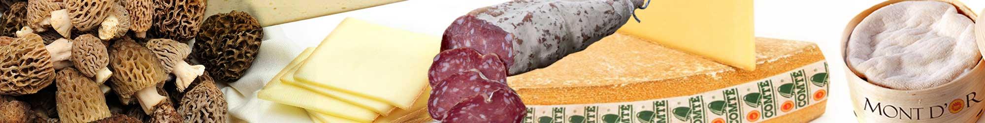 Spécialités du Jura - Morille, Comté et autres produits régionaux du Jura
